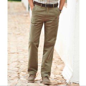 samuel windsor | moleskin pants - light olive